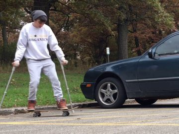 Pro WCMX athlete learns 9 skateboard tricks in 7 months!